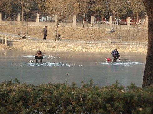 sport d'hiver à Pékin